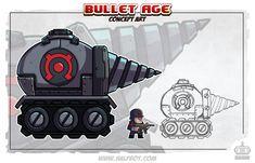 Drill-tank by DerekLaufman.deviantart.com on @deviantART