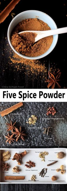 Chinese Five Spice Powder China Sichuan Food Homemade Dry Mixes, Homemade Spice Blends, Homemade Spices, Homemade Seasonings, Spice Mixes, Chinese Spices, Chinese Five Spice Powder, Chinese Food, Five Spice Recipes