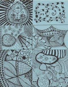 Zentangle 2 - art - my creation