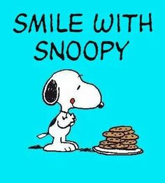 #2..Snoopy and the chocolate chip cookies!