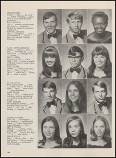 1972 Taylor High School Yearbook via Classmates.com