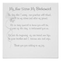 sister in law poem! awesome idea for all my sister in laws standing up in my wedding! so going in their gift bags! Wedding Songs, Wedding Events, Wedding Ceremony, Our Wedding, Wedding Speeches, Wedding Stuff, Dream Wedding, Wedding Gifts, Wedding Entrance