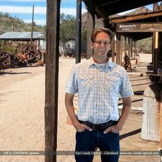 Jeff is exploring Wild Wild West in his new Lindberg glasses.  Word of advice, kid. You ain't a cowboy without Eye Candy Glasses!  Be who you want to be at Eye Candy Optical! www.eye-candy-optical.com  (440) 250-9191