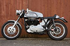I would love to have an old motorcycle