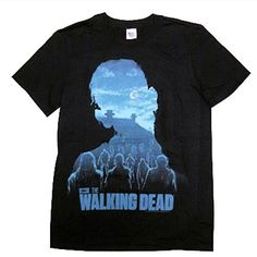 The Walking Dead Zombies Walkers Graphic T-Shirt - X-Large @ niftywarehouse.com