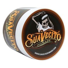 SP-P001NN SUAVECITO ORIGINAL HOLD POMADE - 4 OZ This is an awesome smelling water based product that is made to keep your hair in place for the full day and into the night. It applies effortlessly with it's creamy consistency and provides a fierce grip for slickbacks, pompadours, side parts or any hairstyle you need. It washes out with just water and no extra effort leaving your hair feeling just as it did before you put it in. Medium firmness and a healthy shine. No harsh chemicals or…