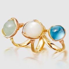 We have a new guest designer in our midst, Ole Lynggaard Copenhagen. Prepare to fall for the most amazing cabochon gemstones out there. #jewellery #gemstones #diamonds #jewelry #olelynggaardcopenhagen #astleyclarke #new