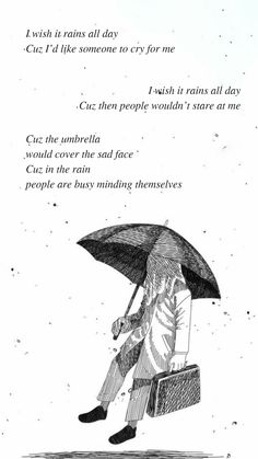 bts quotes Forever rain by BTS RM Lyrics wallpaper my IG for the most recent ones Ji. Bts Song Lyrics, Bts Lyrics Quotes, Bts Qoutes, Pop Lyrics, Bts Citations, Rain Quotes, Rain Wallpapers, Bts Backgrounds, Sad Faces