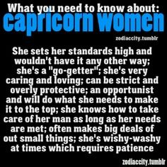 Capricorn woman personality traits and characteristics