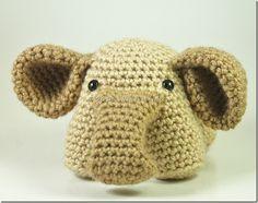 ༺༺༺♥Elles♥Heart♥Loves♥༺༺༺ ........♥Crochet Amigurumi♥........ #Amigurumi #Patterns #Crochet #Softies #Childrens #Toys #Handmade #Teddy #Doll #Tutorial #Patterns #Collectable~ ♥Lovely Little Elephant