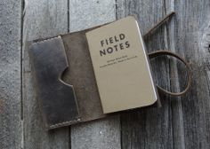 No.24 | Notebook Cover w/Field Notes memo book