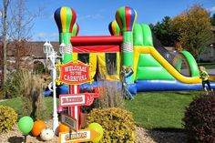 A Pinterest-Inspired Carnival Party - Bitz & Giggles