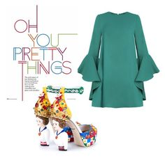 """Eyes on the prize"" by ziasmin on Polyvore featuring Dolce&Gabbana"