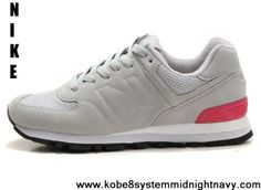 ab49f0239917 Star s favorite New Balance NB WS574GP Sonic Grey Pink Red For Women shoes  Newest Now Nike