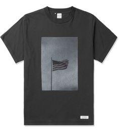 Black J.W. x Deluxe American Flag T-Shirt