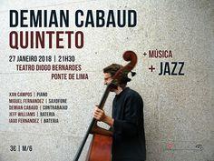 Demian Cabaud Quinteto | Jazz | Teatro Diogo Bernardes | Ponte de Lima