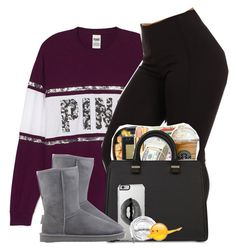 """""""Dabb Daddy"""" by danimack03 ❤ liked on Polyvore featuring Victoria Beckham, Lipsy, UGG Australia and Urbanears"""
