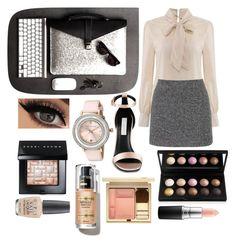 """Oficina"" by pandicornio033 on Polyvore featuring moda, Topshop, STELLA McCARTNEY, Ted Baker, Bobbi Brown Cosmetics, Clarins, MAC Cosmetics y OPI"