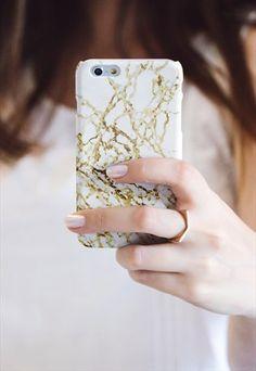 GOLDEN DESERT MARBLE MARBLE IPHONE CASE