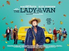 New look: Academy Award winner Dame Maggie Smith is set to be a box office sensation in new movie, The Lady In The Van, as a new poster is released