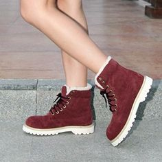 74.87$  Watch now - http://alixoa.shopchina.info/1/go.php?t=32230007131 - 2016 new winter snow boots warm leather boots lovers British Lun Mading boots big yards small size shoes free shipping141107 74.87$ #aliexpresschina