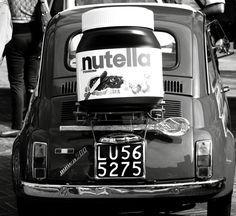 Most Delicious Fiat 500 / Nutella