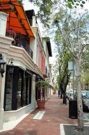 Coconut Grove, Miami!  One of the coolest spots in Miami...great for shopping and strolling.