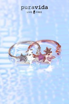 Or Rose, Rose Gold, Writing Art, Cute Stars, Star Ring, Constellations, Love, Rings, Silver