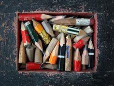 Stubby Pencils by Marion de Man
