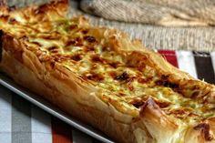Tarta salada de puerro y queso de cabra | Cocina