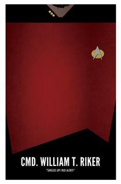 William T. Riker (Star Trek Poster) by marekmaurizio on DeviantArt Affiche Star Trek, Star Trek Poster, Star Trek Tv, Star Trek Ships, Star Wars, Vaisseau Star Trek, Deep Space 9, United Federation Of Planets, Star Trek Images