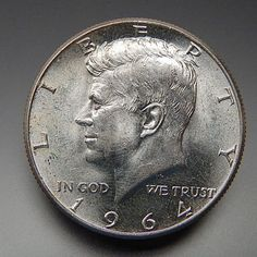 1964 Us Mint Collectible Kennedy Half Dollar Silver Coin More | goldankauf-haeger.de