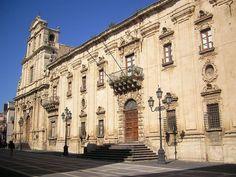 St. Benedict Abbey, Militello Val di Catania, Sicily, Italy