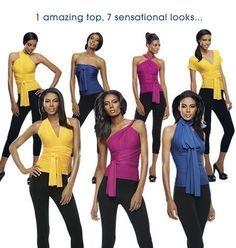 New Avon Wear Your Way Convertible Halter Top Fuchsia Size Large   eBay