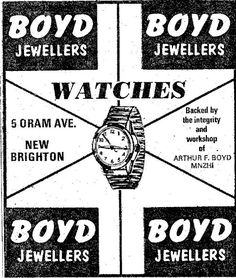 Boyd Jewellers, 5 Oram Ave, New Brighton, Christchurch, New Zealand