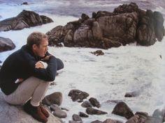 Steve McQueen - Barbour Clifton cardigan, Levi's 306 sta-prest Khakis, Clark's…