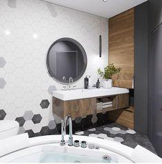 43 Ideas For Bathroom Design Layout Renovation Mirror Bathroom Design Layout, Best Bathroom Designs, Modern Bathroom Design, Bathroom Interior Design, Layout Design, Bathroom Renos, Small Bathroom, Master Bathroom, Mirror Bathroom