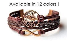 Infinity Armband Levensboom Armband Infinity Armband met