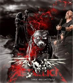 Metallica Art, Thrash Metal, Heavy Metal, Darth Vader, Flowers, Fictional Characters, Backgrounds, Heavy Metal Music, Fantasy Characters