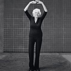 """Esther Tuttle, 99  - How to be confident: Treasure your health every day.  """"Your body is your instrument, and you have to take beautiful care of it. I do one hour of yoga and walk for 30 minutes every day. You really enjoy life a lot more if you're healthy. And I never leave home without putting on lipstick—it makes me feel pretty!"""""""