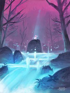 youth fountain anime mythology greek