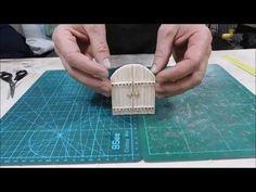 Costruire un portone in legno di balsa - YouTube