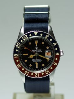 "Rolex GMT ""No Crown Guards"" ref 6542, the Pan Am watch"