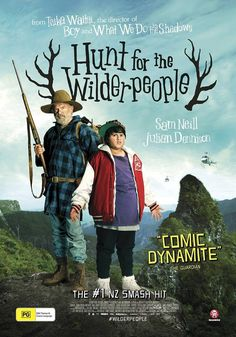 Directed by Taika Waititi. With Sam Neill, Julian Dennison, Rima Te Wiata, Rachel House. A national manhunt is ordered for a rebellious kid and his foster uncle who go missing in the wild New Zealand bush. Hd Movies, Movies Online, Movie Tv, 2016 Movies, Fast And Furious, Defender Film, Wilder People, Hunt For The Wilderpeople, Sam Neill