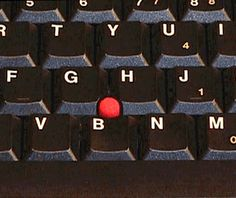 IBM ThinkPad (The Trackpoint), 1992.