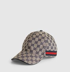 Gucci - baseball hat with web 200035F4CRG4080 Maletines d2464ffa898
