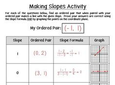 Blog Post - fun, challenging activity idea for practicing slope with free download