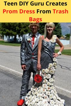 Duct tape prom apparel has been the rage among high schoolers hoping to nail a $10,000 scholarship and stand out at prom. Aspiring fashion designers have challenged their creativity for the past 18 years that the contest has been around.