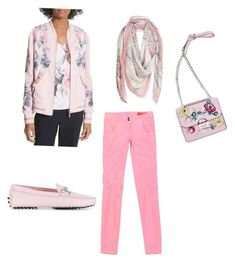 """In the pink"" by christine-blundell on Polyvore featuring Ted Baker, MET, Ottod'Ame, Tod's and Topshop"