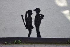 Stokes croft, stencil via http://www.bristol-street-art.co.uk